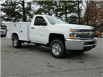 2018 Silverado 2500 Regular Cab 4x2,  Reading SL Service Body #1180096 - photo 8