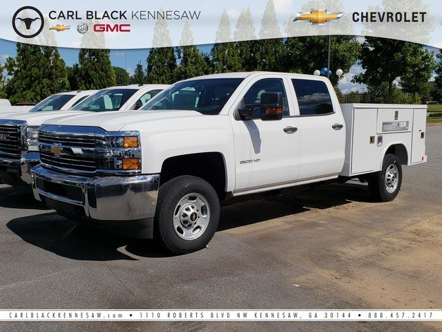 2018 Silverado 2500 Crew Cab, Reading SL Service Body #1180119 - photo 1