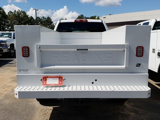 2018 Silverado 2500 Crew Cab 4x2,  Reading SL Service Body #1180119 - photo 7