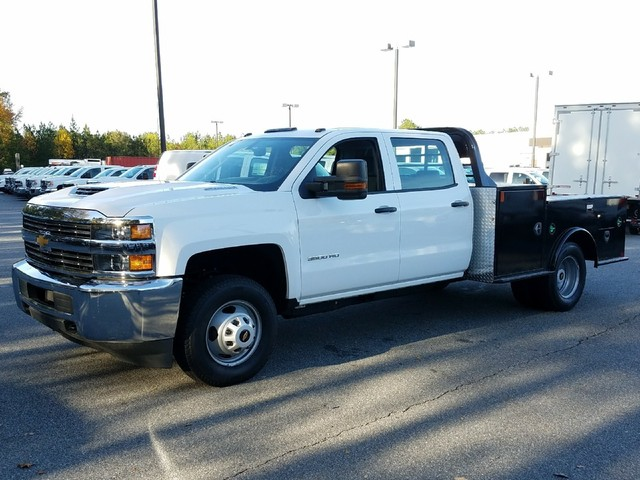 2017 Silverado 3500 Crew Cab Drw Cm Truck Beds Tm Model Hauler Body 1180129