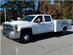 2018 Silverado 3500 Crew Cab DRW, Reading Service Body #1180153 - photo 1