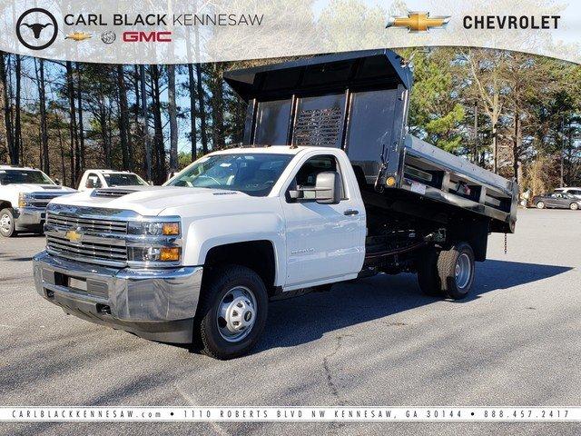 2018 Silverado 3500 Regular Cab DRW 4x4,  Freedom Dump Body #1180274 - photo 1