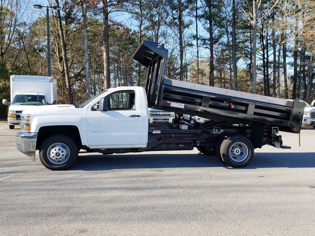 2018 Silverado 3500 Regular Cab DRW 4x4,  Freedom Dump Body #1180274 - photo 2