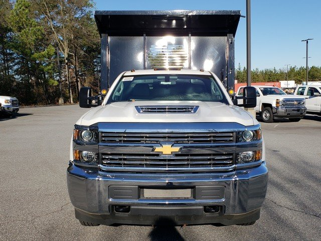 2018 Silverado 3500 Regular Cab DRW 4x4,  Freedom Dump Body #1180274 - photo 6