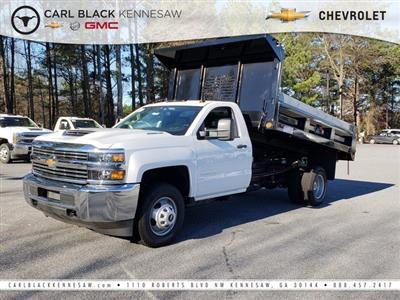 2018 Silverado 3500 Regular Cab DRW 4x4,  Freedom LoadPro Dump Body #1180274 - photo 1