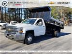 2018 Silverado 3500 Regular Cab DRW 4x4,  Freedom Dump Body #1180274 - photo 1
