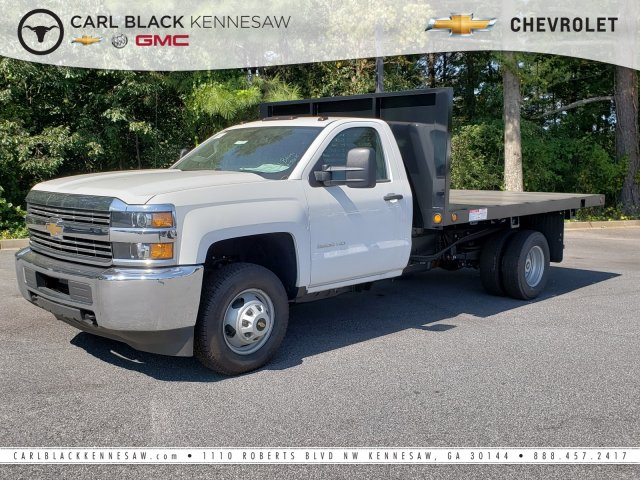 2018 Silverado 3500 Regular Cab DRW 4x2,  Freedom Platform Body #1180294 - photo 1