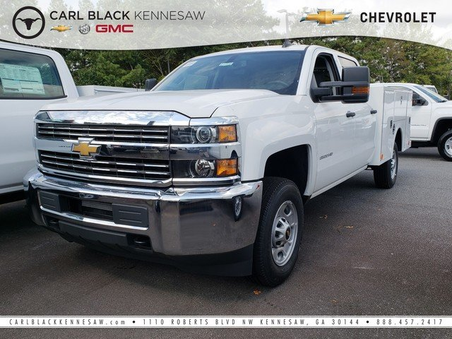 2018 Silverado 2500 Crew Cab 4x2,  Warner Select II Service Body #1180385 - photo 1