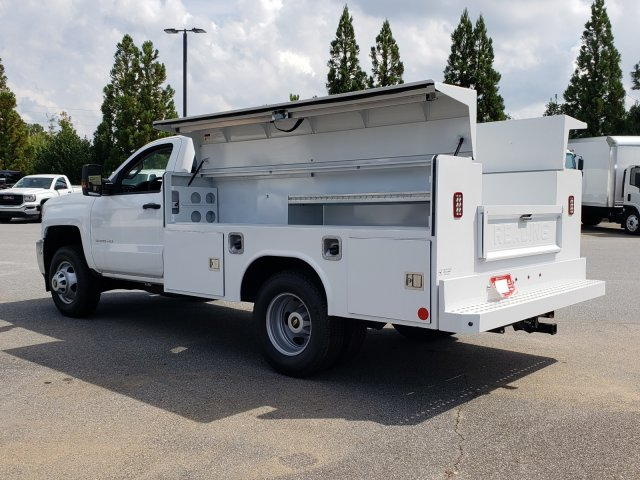 2017 Silverado 3500 Regular Cab DRW 4x4,  Reading Service Body #1180507 - photo 2