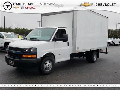 2018 Express 3500 4x2,  Complete Truck Bodies Cutaway Van #1180728 - photo 1