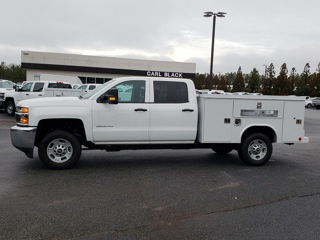 2018 Silverado 2500 Crew Cab 4x2,  Reading Service Body #1180820 - photo 2