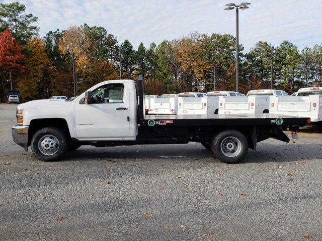 2018 Silverado 3500 Regular Cab DRW 4x4,  Monroe Platform Body #1180911 - photo 2