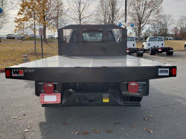 2018 Silverado 3500 Regular Cab DRW 4x4,  Monroe Work-A-Hauler II Platform Body #1180911 - photo 5