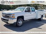 2018 Silverado 3500 Crew Cab DRW 4x4,  Warner Service Body #1180988 - photo 1