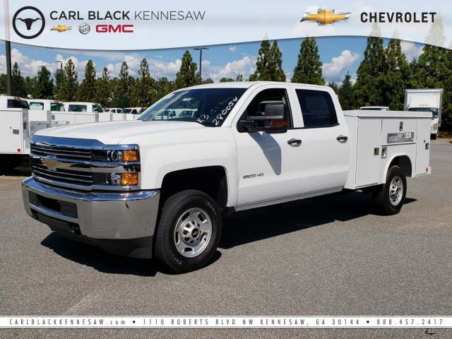 2018 Silverado 2500 Crew Cab 4x2,  Reading Service Body #1181075 - photo 1