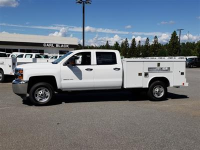 2018 Silverado 2500 Crew Cab 4x2,  Reading SL Service Body #1181075 - photo 2