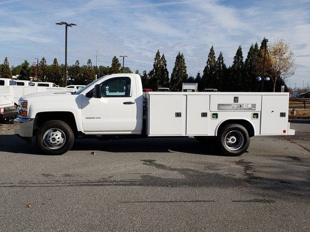 2018 Silverado 3500 Regular Cab DRW 4x2,  Reading Service Body #1181094 - photo 2