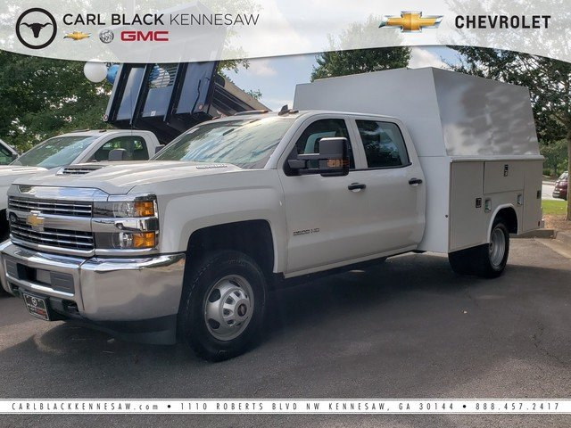 2018 Silverado 3500 Crew Cab DRW 4x4,  Reading Panel Service Body #1181104 - photo 1