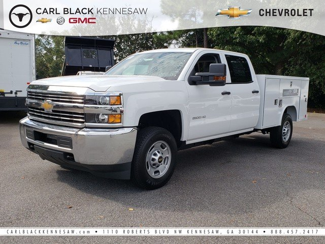 2018 Silverado 2500 Crew Cab 4x2,  Service Body #1181107 - photo 1