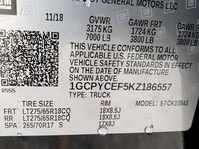 2019 Silverado 1500 Crew Cab 4x4,  Pickup #1190372 - photo 8