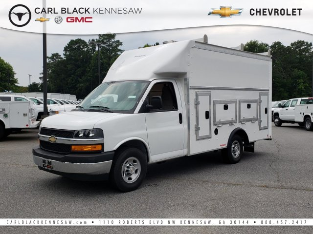 2019 Express 3500 4x2,  Rockport Service Utility Van #1191151 - photo 1