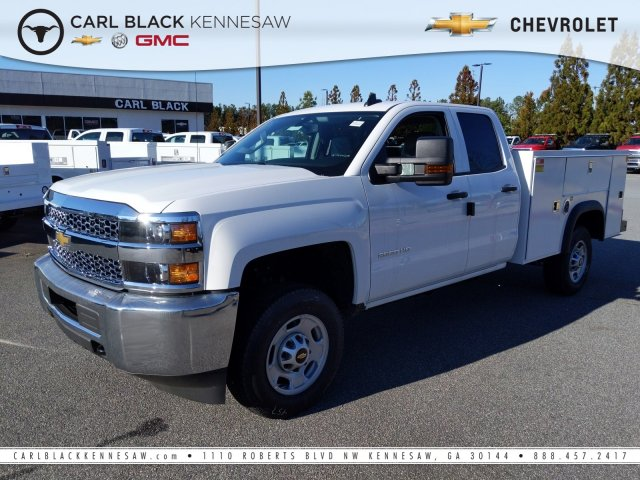 2019 Chevrolet Silverado 2500 Double Cab 4x2, Monroe Service Body #1191516 - photo 1