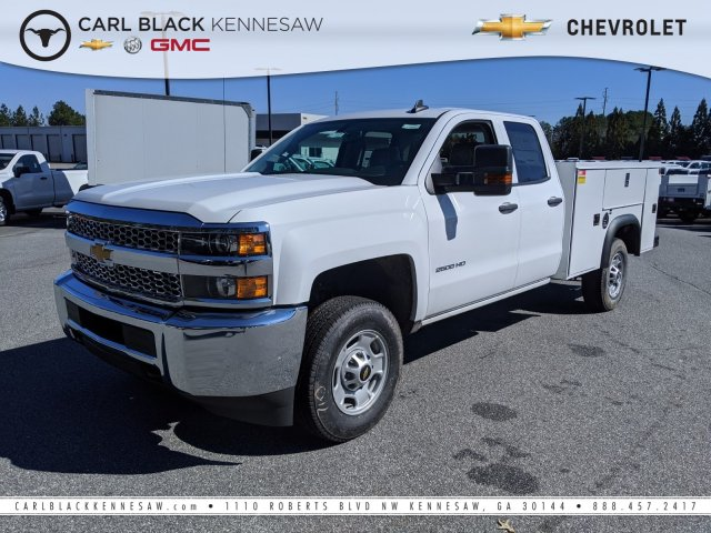 2019 Silverado 2500 Double Cab 4x4, Monroe Service Body #1191573 - photo 1
