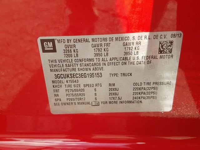 2014 Silverado 1500 Crew Cab 4x4, Pickup #1371186A - photo 16