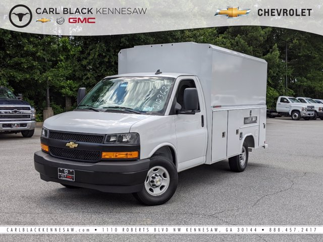 2020 Chevrolet Express 3500 RWD, Reading Service Utility Van #F1100863 - photo 1