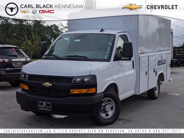 2020 Chevrolet Express 3500 RWD, Reading Service Utility Van #F1101031 - photo 1