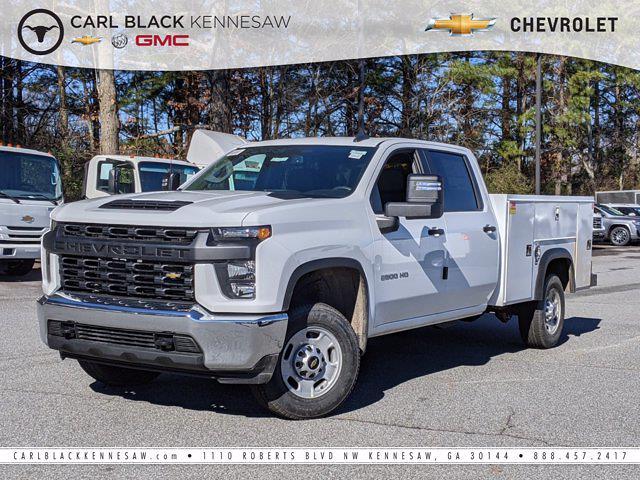 2021 Chevrolet Silverado 2500 Crew Cab 4x2, Monroe Service Body #F111041 - photo 1