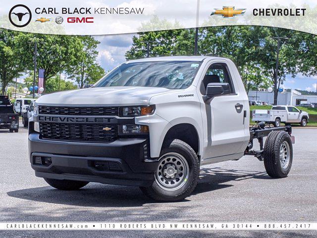 2021 Chevrolet Silverado 1500 Regular Cab 4x4, Cab Chassis #F1110978 - photo 1