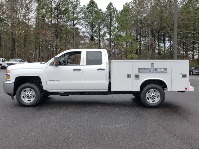 2019 Silverado 2500 Double Cab 4x4,  Reading Service Body #F1190337 - photo 2