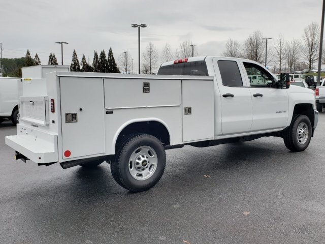 2019 Silverado 2500 Double Cab 4x4,  Reading Service Body #F1190337 - photo 4