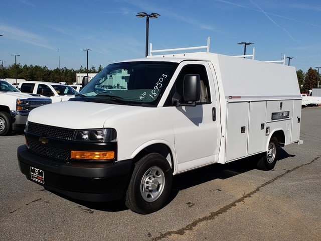 2019 Express 3500 4x2,  Reading Service Utility Van #F1190577 - photo 1