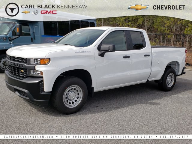 2019 Silverado 1500 Double Cab 4x2,  Pickup #F1190696 - photo 1
