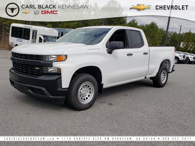 2019 Silverado 1500 Double Cab 4x2,  Pickup #F1190699 - photo 1