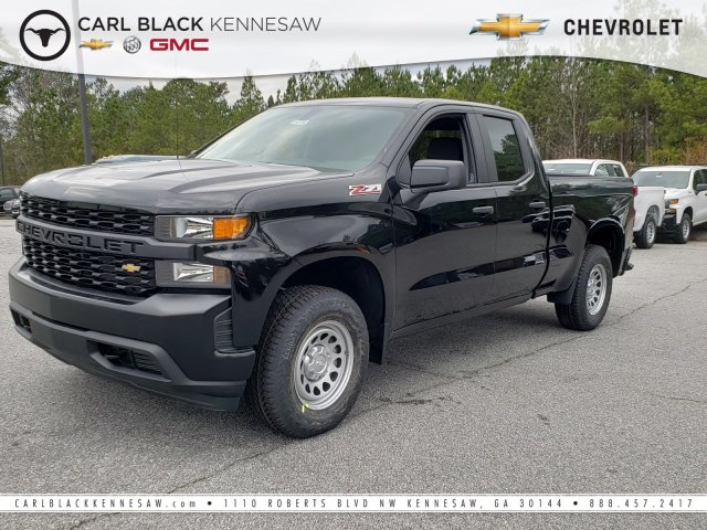 2019 Silverado 1500 Double Cab 4x4,  Pickup #F1190700 - photo 1