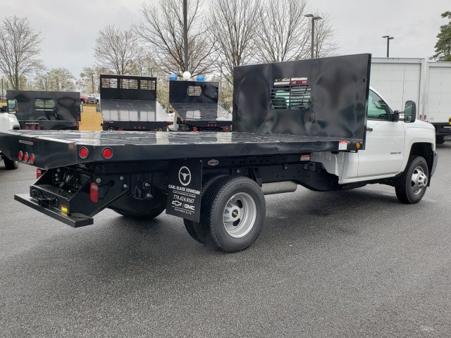 2019 Silverado 3500 Regular Cab DRW 4x2,  Freedom Dump Body #F1190781 - photo 1