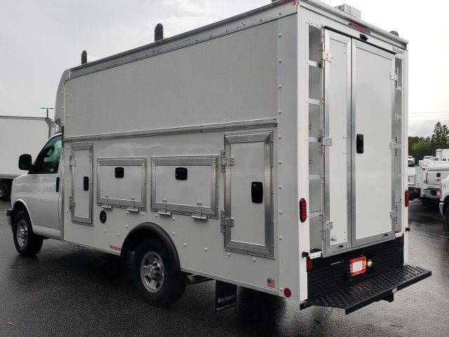 2019 Express 3500 4x2, Rockport Workport Service Utility Van #F1191261 - photo 2