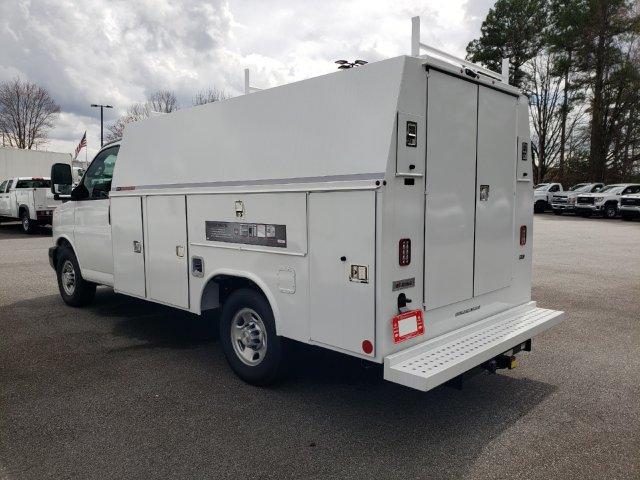 2019 Express 3500 4x2, Reading Service Utility Van #F1191452 - photo 1