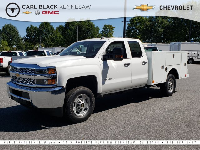2019 Silverado 2500 Double Cab 4x2, Warner Service Body #F1191483 - photo 1