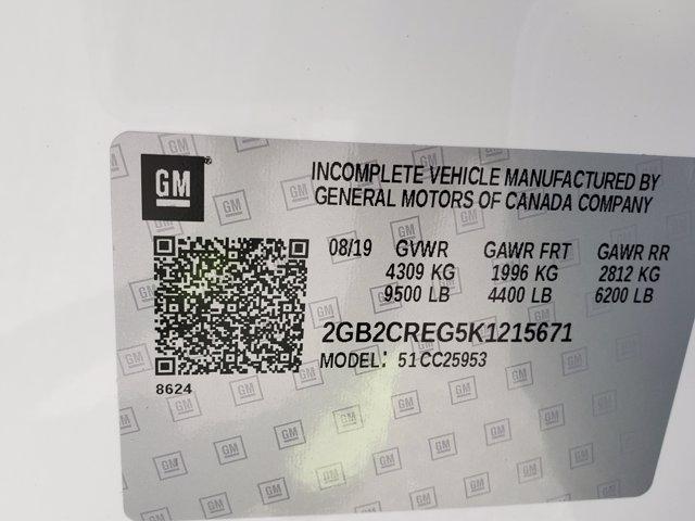 2019 Silverado 2500 Double Cab 4x2, Warner Select Pro Service Body #F1191483 - photo 10