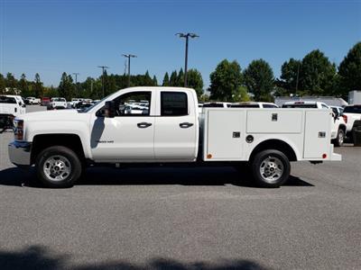 2019 Silverado 2500 Double Cab 4x2, Warner Select Pro Service Body #F1191483 - photo 3