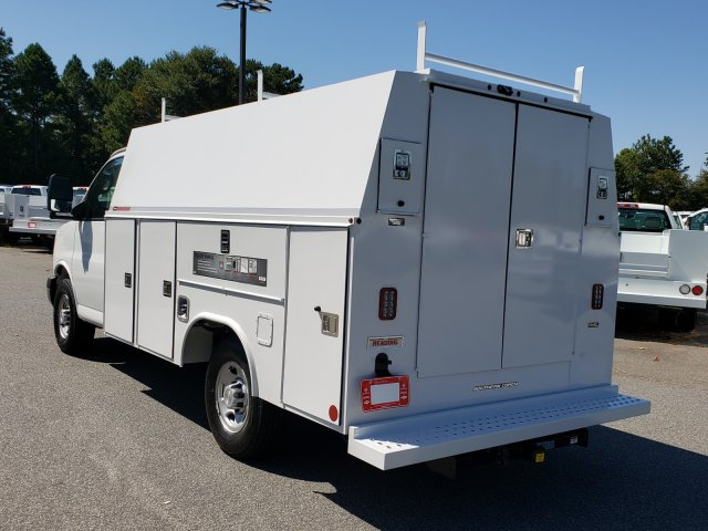 2019 Express 3500 4x2, Reading Service Utility Van #F1191493 - photo 1