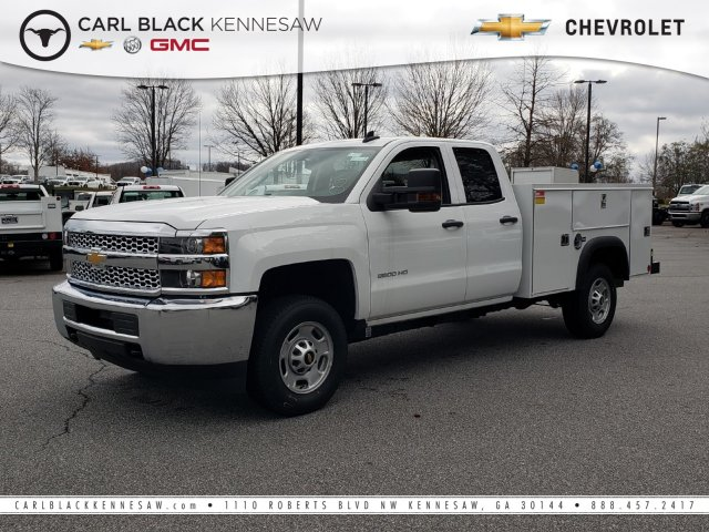 2019 Silverado 2500 Double Cab 4x2, Monroe Service Body #F1191541 - photo 1