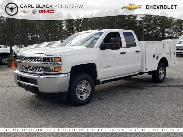 2019 Silverado 2500 Double Cab 4x4, Warner Service Body #F1191576 - photo 1