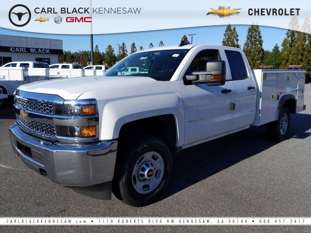 2019 Chevrolet Silverado 2500 Double Cab 4x4, Monroe Service Body #F1391444 - photo 1