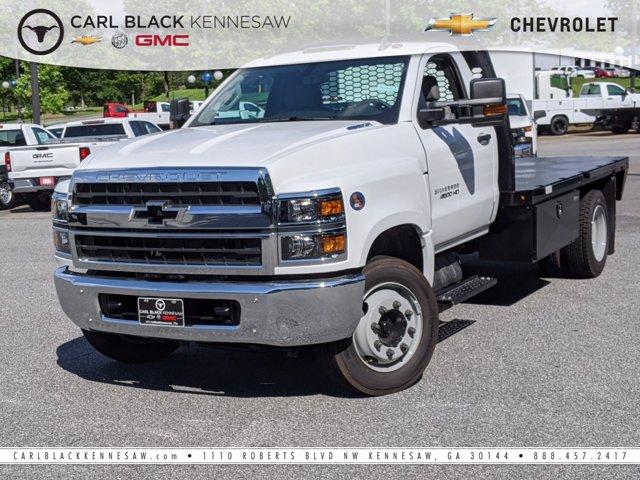 2020 Chevrolet Silverado Medium Duty Regular Cab DRW 4x2, Knapheide Platform Body #M1900014 - photo 1
