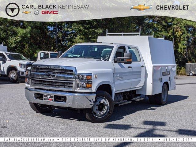 2020 Chevrolet Silverado Medium Duty Crew Cab DRW 4x2, Reading Service Body #M1900018 - photo 1